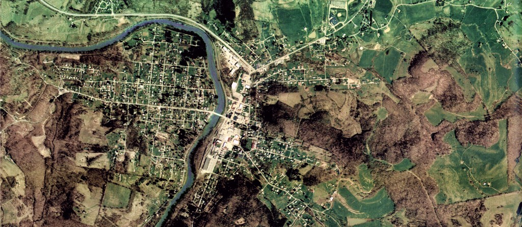 Aerial View of Belington, WV